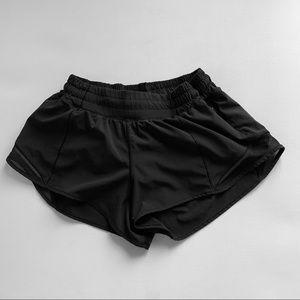 Lululemon Athletica Shorts Black Lined Sz 6